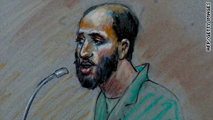 Zacarias Moussaoui has been held by the government since August 2001.