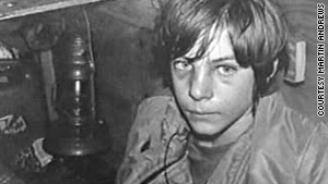 Martin Andrews was 13 when he was abducted by a sexual predator and held for eight days.
