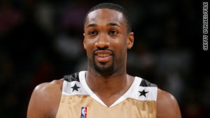 Washington Wizards top scorer Gilbert Arenas says he was playing a joke when he pulled a gun in the locker room.