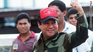 The Supreme Court was the last legal hope of Gen. Manuel Antonio Noriega, above in 1989, to fight extradition to France.