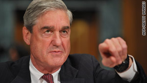 FBI Director Robert Mueller testifies before the Senate Judiciary Committee on January 20.