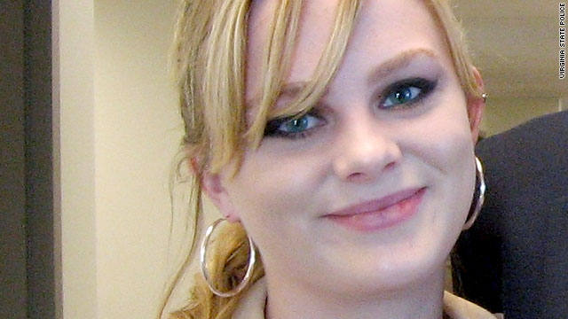 Virginia Tech student Morgan Harrington, 20, disappeared from a Metallica concert on October 17.