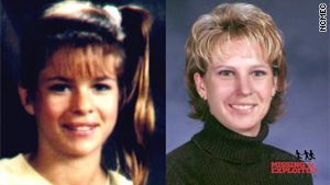 Andrea Durham is shown as a 13-year-old and what she might look like today.