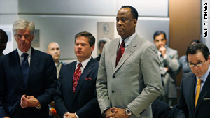 Dr. Conrad Murray has pleaded not guilty to involuntary manslaughter in Michael Jackson's death.
