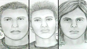 The Bureau of Alcohol, Tobacco, Firearms and Explosives released the sketches Friday at a news conference.