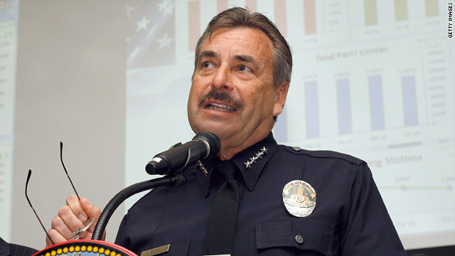 Los Angeles' new police chief, Charlie Beck, comes from an LAPD family and has been on the force since 1977.