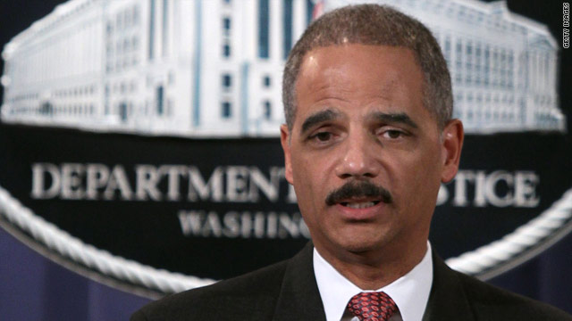 """Attorney General Eric Holder on accused terrorists: """"We need not make more of these people than they are."""""""