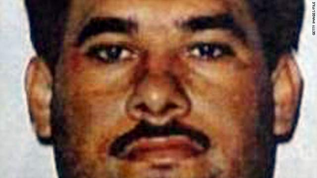 Drug trafficker Osiel Cardenas Guillen, who headed the Gulf cartel and was on Mexico's most wanted list, is shown prior to his 2003 capture.