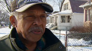 Chicago, Illinois, community activist Otis McDonald says he wants a handgun to protect him and his family.