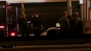 Pentagon police officers shot a man after he shot two of them March 4 outside the Pentagon.