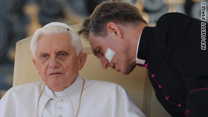 Pope Benedict XVI is expected to release a pastoral letter about the sexual abuse scandal on Saturday.