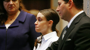 Casey Anthony says she has run out of money for her defense and is seeking the state's assistance.