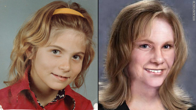 Kimberly King was 12 when she disappeared. She would be 43 now, and might look like the photo on the right.