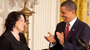 In 2009, President Obama nominated Sonia Sotomayor 25 days after a court vacancy was announced.