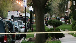 A Wednesday shooting in Chicago's Marquette Park area appears to be the result of a domestic dispute, police say.