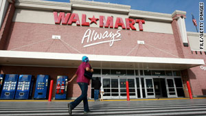 "The plaintiffs say Wal-Mart's ""centralized"" structure facilitates stereotyping and discrimination."