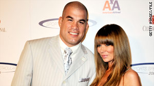 Tito Ortiz faces charges after Jenna Jameson's father called police while she and Ortiz argued.