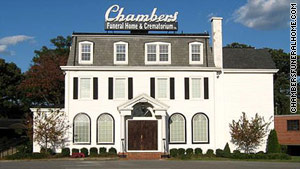 Chambers Funeral Home & Crematorium in Maryland lost its license after investigators found  bodies in a garage.