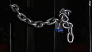 The Southern Christian Leadership Conference building doors were discovered locked up Monday night.