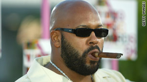 Suge Knight, founder of Death Row Records, has had numerous scrapes with the law.