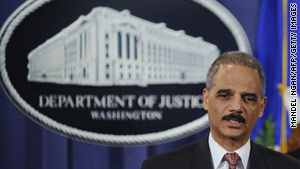 Attorney General Eric Holder and several city police chiefs met Wednesday to talk about Arizona's new immigration law.