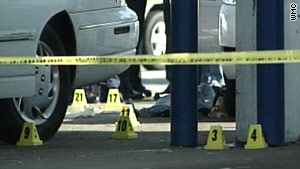 A 26-year-old police officer was shot during a traffic stop in St. Louis, Missouri, police say.