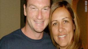 "Bruce Beresford-Redman, left, is a ""person of interest,"" in the murder of wife Monica Beresford-Redman, right."