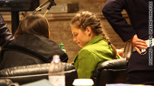 Amanda Knox, shown in court in Perugia, Italy, in December, appeared briefly at a preliminary hearing Tuesday.