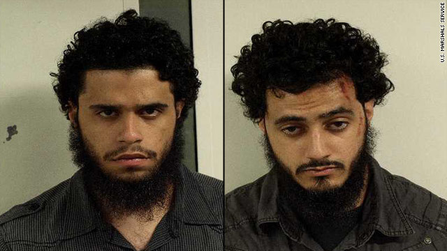 Carlos Eduardo Almonte, 24, and Mohamed Mahmood Alessa, 20, are charged with one count each of conspiracy to kill, maim and murder persons outside of the United States.