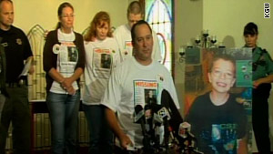 Kyron Horman's mother, father, and stepfather were hopeful a week after he was last seen at school.