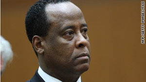 Dr. Conrad Murray is charged with involuntary manslaughter in  Michael Jackson's death.