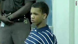 DeMarco Harris, 13, was convicted of fatally shooting a woman during a robbery when he was 12.