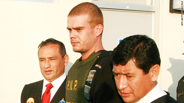 Joran van der Sloot says he's being jailed in Peru in violation of his rights.