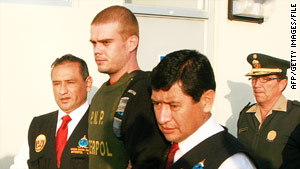 Joran van der Sloot has been charged with murder in the death of  21-year-old Stephany Flores in Peru.