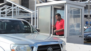 Parking lot attendants are being trained to spot suspicious activity as part of a new federally funded program.