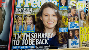 Jaycee Dugard was found in August 2009, living in a shed in the Antioch, California, backyard of Phillip Garrido.