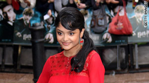 Harry Potter actress Afshan Azad's father and brother are charged with trying to kill her.