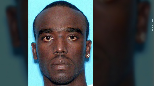 Dontae Rashawn Morris is accused of shooting two officers during a Tampa, Florida, traffic stop on Tuesday.