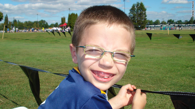Kyron Horman, 7, was last seen earlier this month walking down the hallway of his elementary school in Portland, Oregon.