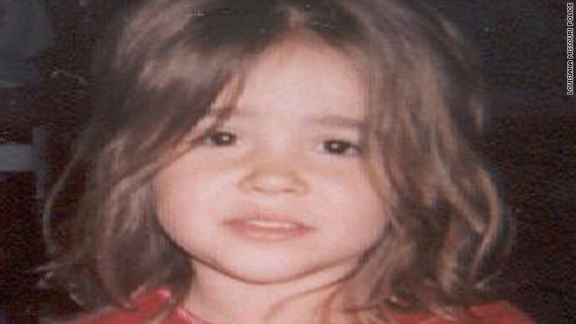 Alisa Maier, 4, was wearing a white shirt and denim shorts when she was abducted Monday evening.