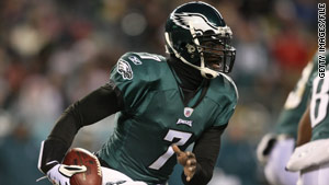 Philadelphia Eagles quarterback Michael Vick is not a suspect in the shooting, police said.