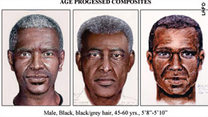 "In May, police released composite sketches showing how the ""Grim Sleeper"" serial killer may have aged."
