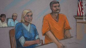 Donald Heathfield and Tracey Ann Foley appeared in court in Boston, Massachusetts.