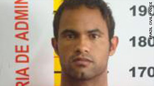 Flamengo goal keeper Bruno Fernandes Das Dores de Souza refused to answer questions, police say.