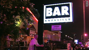 Police say the fight was at Bar Knoxville, a popular destination for University of Tennessee athletes.