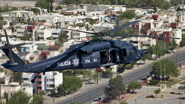 More than 5,000 people have been killed in Ciudad Juarez, Mexico, since the drug turf wars began.