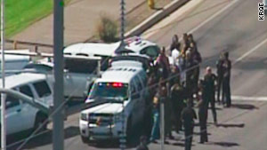 Some 85 employees who were inside the building at the time of the shooting were interviewed before being released.