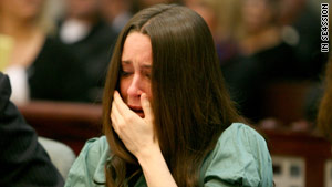 Casey Anthony has pleaded not guilty to charges of killing her daughter, Caylee.