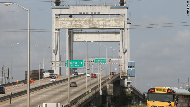 Two people were shot and killed along the Danziger Bridge (shown) in 2005 after Hurricane Katrina hit the area.