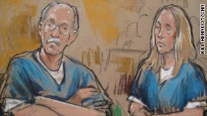 Former U.S. State Department analyst Kendall Myers and his wife, Gwendolyn, pleaded guilty to conspiracy charges.